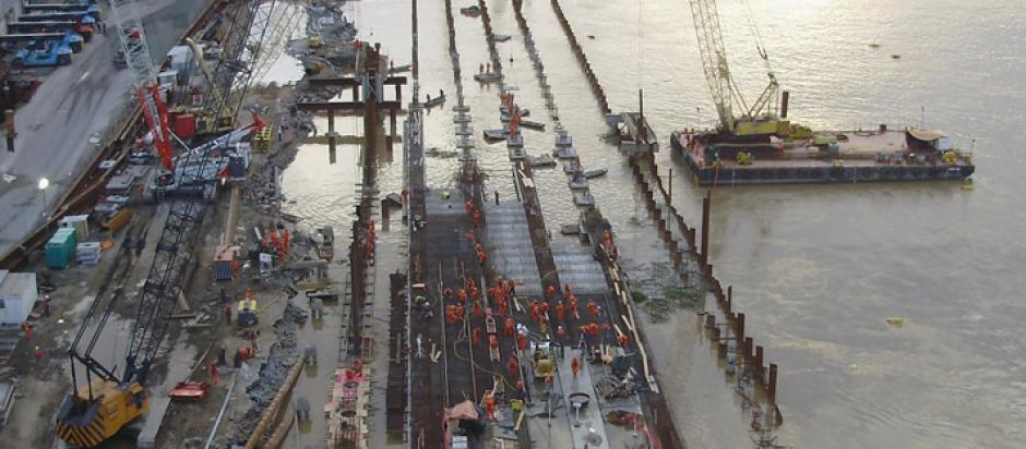 Obra: Reconstrução do Porto de Itajaí